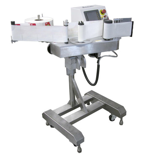automatic labeler / for self-adhesive labels / top / side