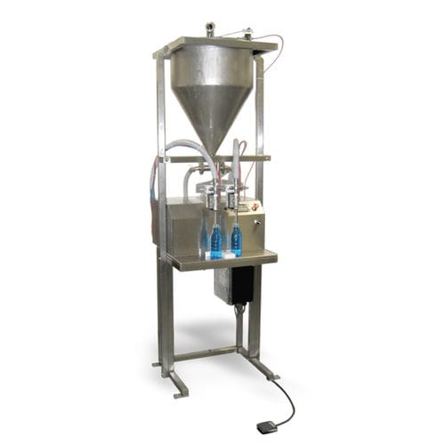 filling machine for the cosmetics industry / cheese / for perfumes / fruit juice