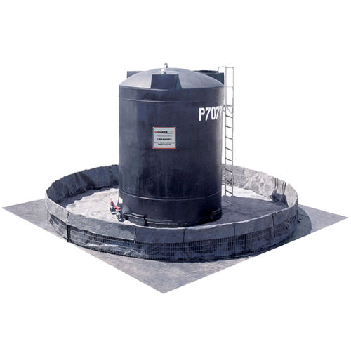 chemical tank / for acids and bases / high-density polyethylene (HDPE) / storage