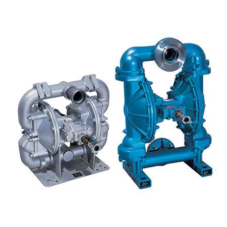 slurry pump / air / air-driven / self-priming