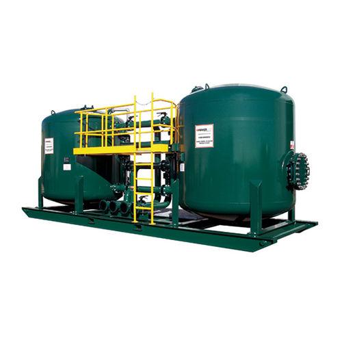 liquid filter / activated carbon / duplex / granular
