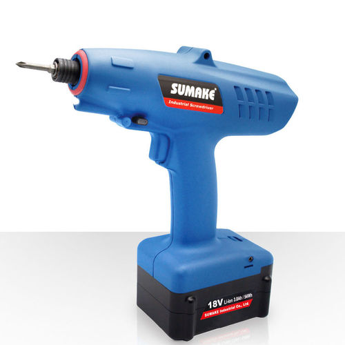 cordless electric screwdriver / pistol / brushless / battery-powered