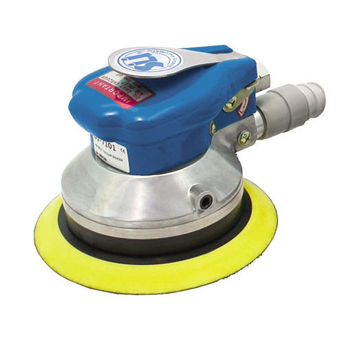 disc sander / pneumatic / dual-action / with self-generated vacuum