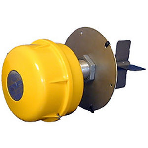 rotary paddle level switch / for bulk materials / IP65 / flange