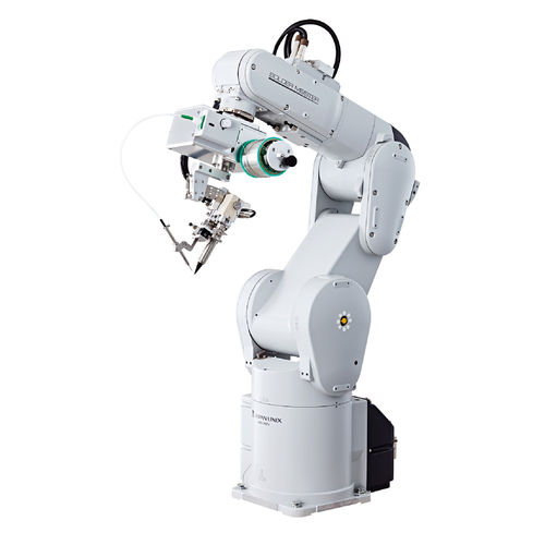 articulated robot / 6-axis / soldering / self-learning