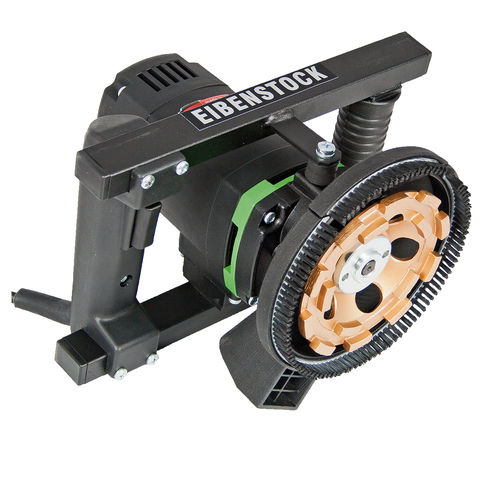 electric sander / disc / for concrete floors / wall and ceiling