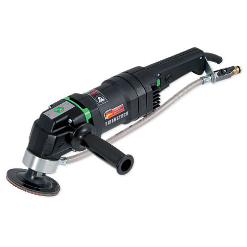 angle polisher / electric / for all materials / wet