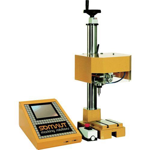 pneumatic marking machine / dot peen / benchtop / with touch screen