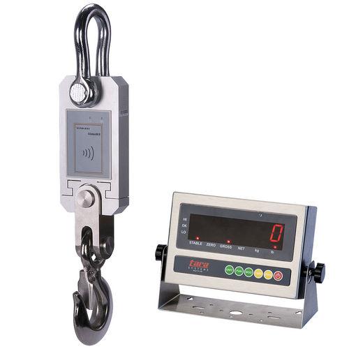 crane scale with wireless indicators