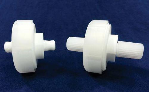 disc filter / liquid / in-line / micro-flow