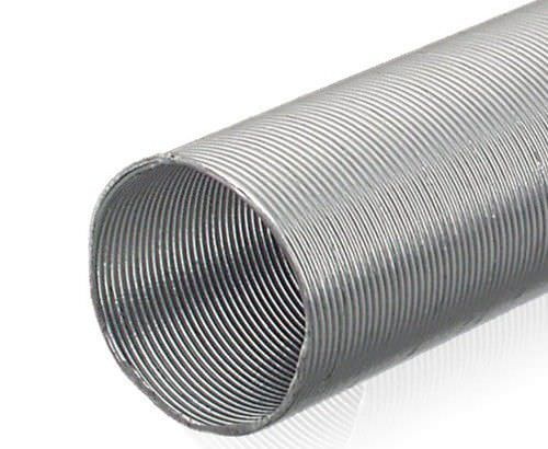 protection sleeve / corrugated / for cables / aluminum