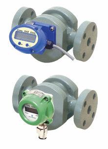 positive displacement flow meter / for nitrogen / in-line