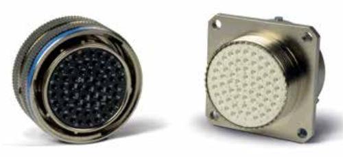 data connector / DIN / circular / crimp