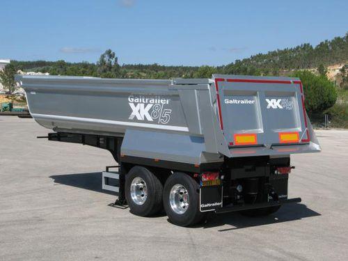 2-axle self-propelled trailer