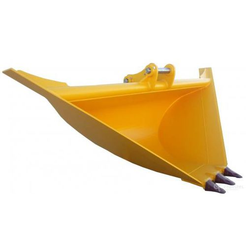 trapezoidal bucket / for excavators / ditch cleaning