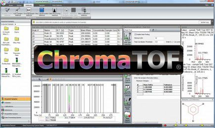 data acquisition and analysis software / for mass spectrometry
