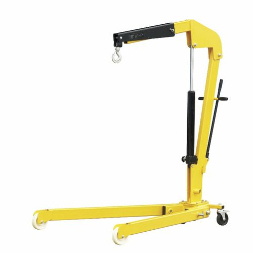 mobile crane / folding / hydraulic / height-adjustable