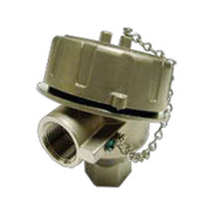temperature sensor connection head / stainless steel / IP68