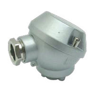 aluminum connection head / for temperature sensors / IP66