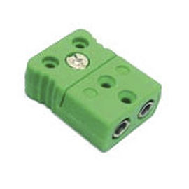 electrical power supply connector / IEC C7 / female / for thermocouples