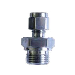 compression fitting / screw-in / straight / hydraulic