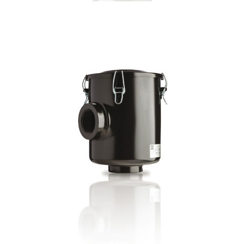 cartridge filter housing / for compressed air