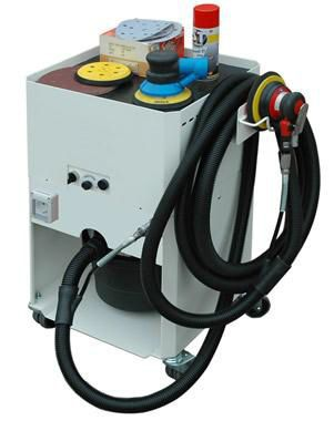 dry vacuum cleaner / single-phase / industrial / for wood