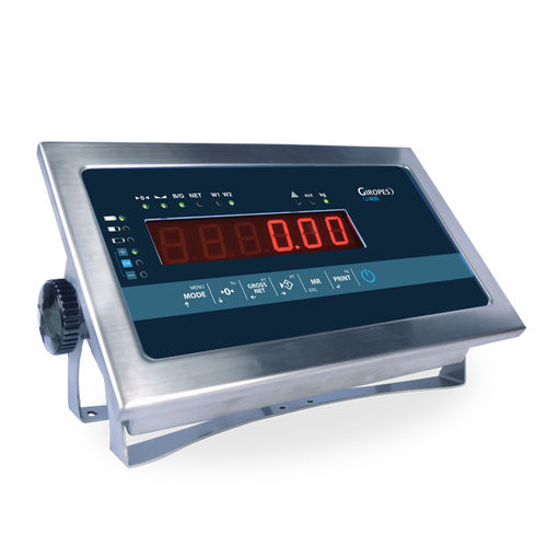 LCD display weight indicator - GIROPES