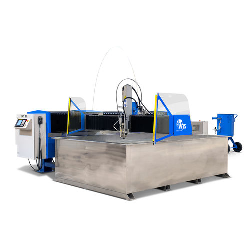 abrasive water-jet cutting machine / for composite materials / for ceramics / for metal