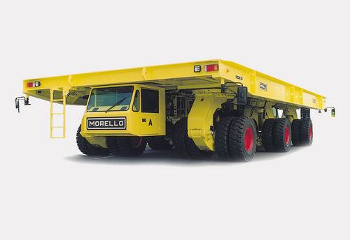 diesel self-propelled trailer