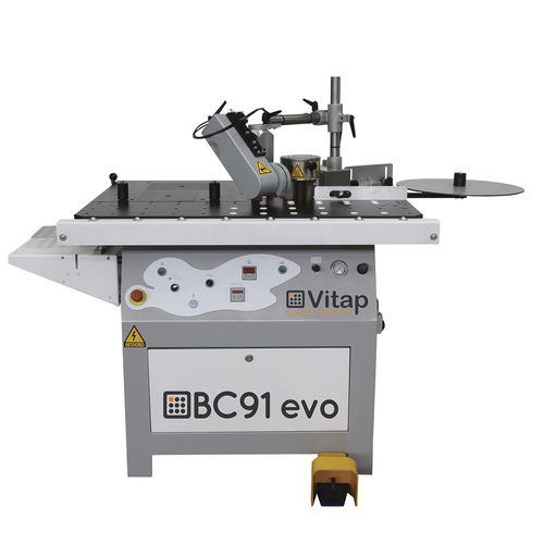 semi-automatic edge-banding machine / for pre-glued bands / with glue applicator