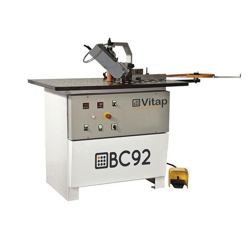 semi-automatic edge-banding machine / for wood