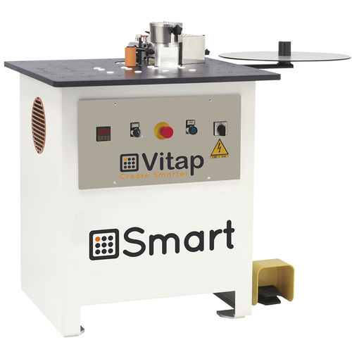 semi-automatic edge-banding machine / for wood