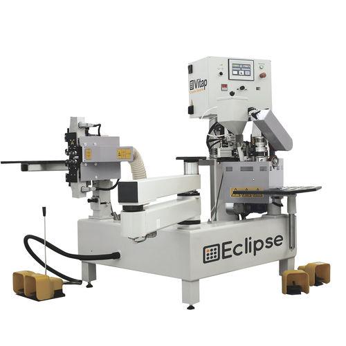 semi-automatic edge-banding machine / for panels