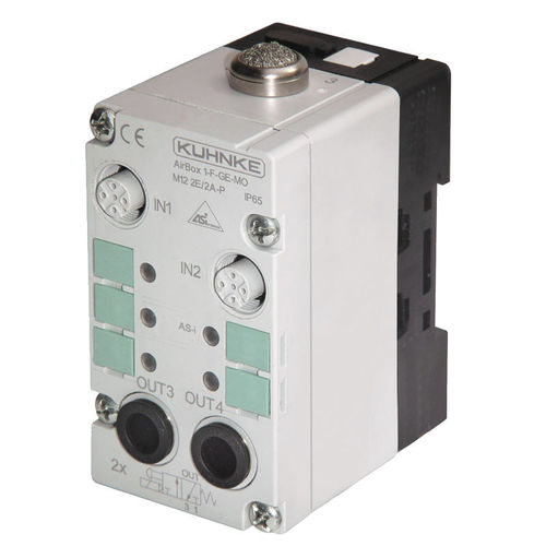 modular pneumatic solenoid valve / 3/2-way / air / stainless steel