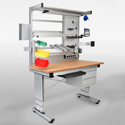 ergonomic assembly workstation / multipurpose