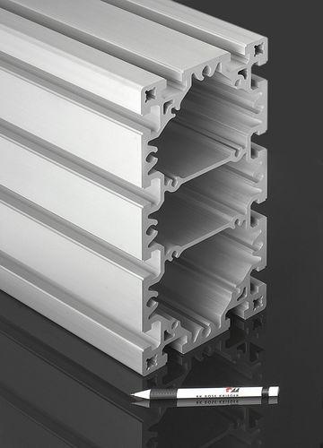 aluminum profile / rectangular / flat / lightweight