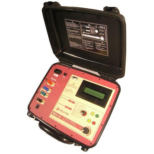 digital ohmmeter / portable / low-resistance