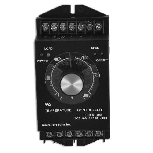 analog temperature controller / programmable / industrial