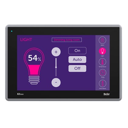 HMI terminal with touch screen / panel-mount / 800 x 480 / TFT LCD