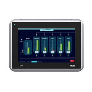 HMI terminal with touch screen / panel-mount / 800 x 480 / ARM Cortex A9 Dual Core