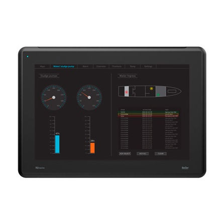 HMI terminal with touch screen / panel-mount / 1280 x 800 / ARM Cortex A9 Dual Core
