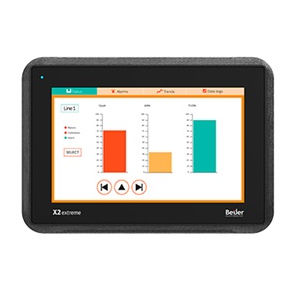 HMI terminal with touch screen / panel-mount / 800 x 480 / ARM Cortex-A9