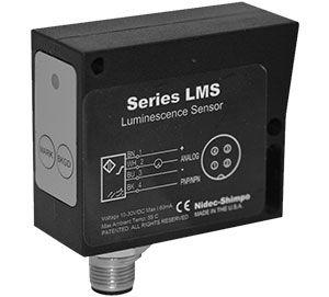 rectangular luminescence sensor / LMS / for packaging machines