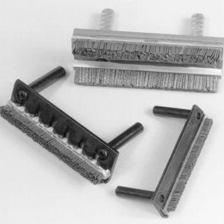 strip brush / honing / metal / for tools