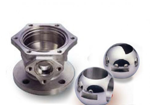 stainless steel ball / Hastelloy® / cast steel / for valves