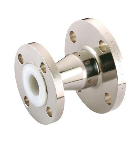 hydraulic adapter / reducing / flange / PFA