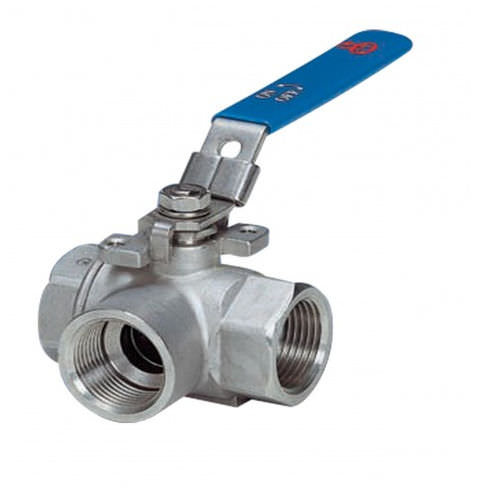 ball valve / lever / diverter / for water
