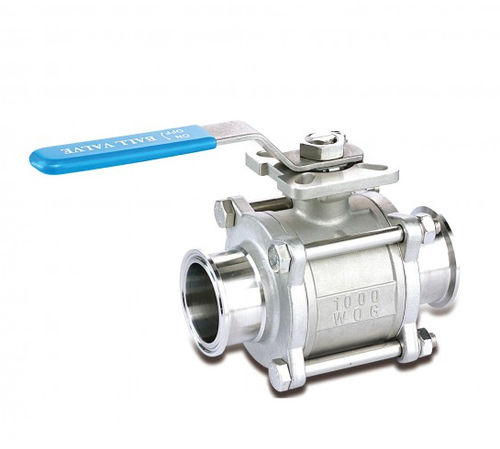 ball valve / lever / regulating / for water