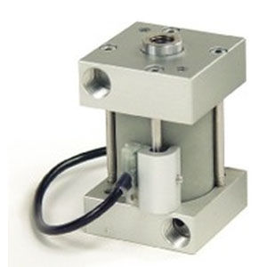 pneumatic cylinder / double-acting / stainless steel